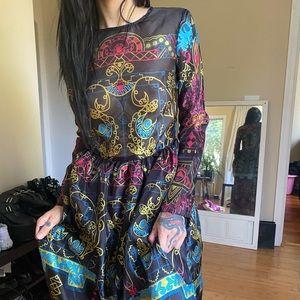RARE vintage maxi dress
